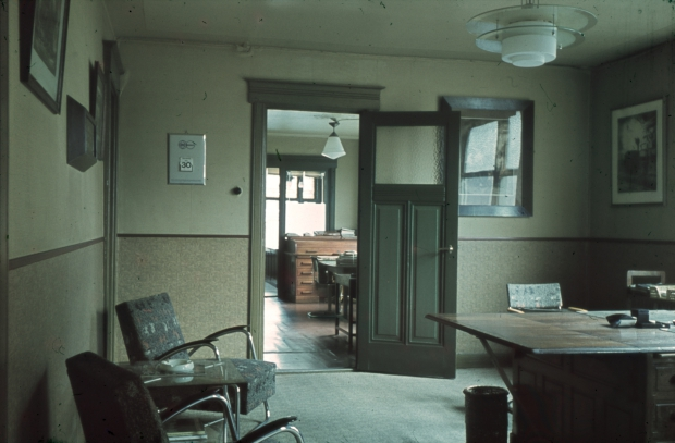 Interieur kantoor Richard Boske Rotterdam jaren dertig go with the vlo