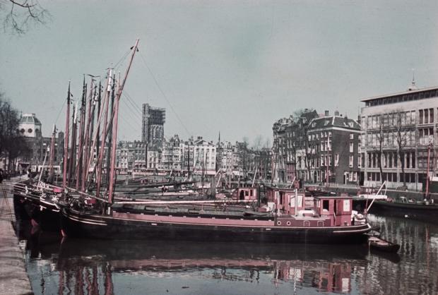 Leuvehaven Rotterdam jaren dertig Jaap Tieman go with the vlo
