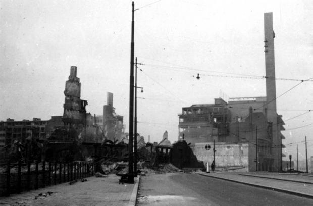 Nu ik je nooit meer zie Bijenkorf Rotterdam bombardement 1940 go with the vlo