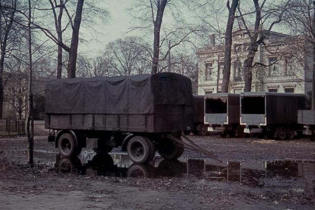 Parklaan Rotterdam jaren dertig vrachtwagen Richard Boske go with the vlo