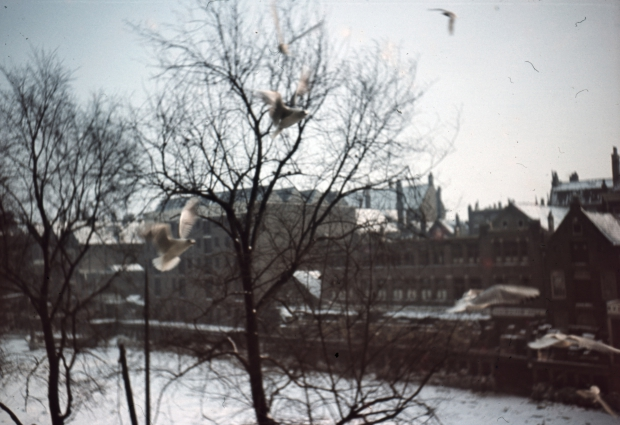Scheepmakershaven winter gracht Rotterdam jaren dertig Richard Boske go with the vlo