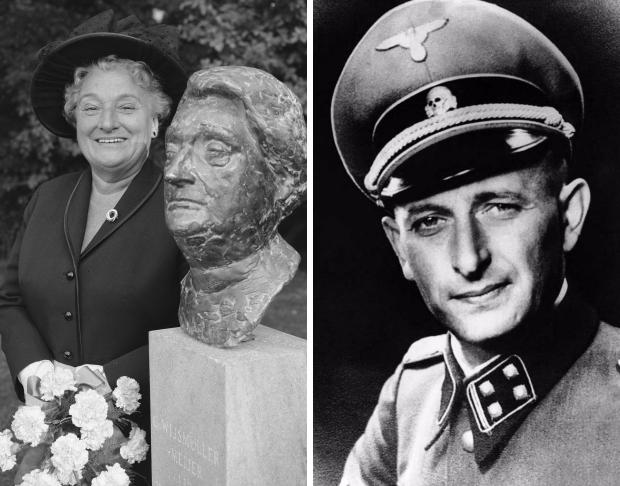 Truus Wijsmuller-Meijer Adolf Eichmann kindertransport Joden oorlog go with the vlo