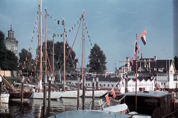 Veerhaven Rotterdam boten jaren dertig Richard Boske go with the vlo