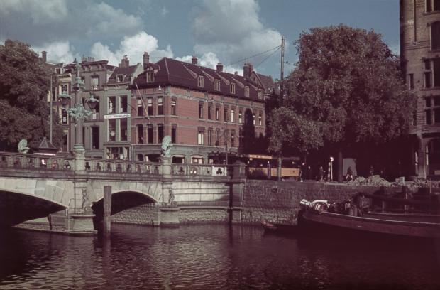 Wijnhaven Regentessebrug tram Rotterdam jaren dertig Richard Boske go with the vlo